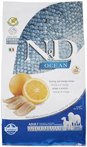 <b>Farmina N&D</b> Ocean Herring & Orange Medium & Maxi Adult Grain ...