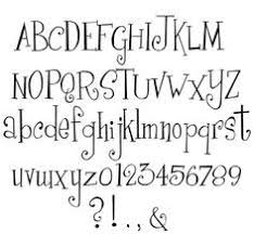 Alicia Nagel Creative Font Design is Occasionally Necessary     Take My Word For It    Typepad Free handwriting fonts  Bembo