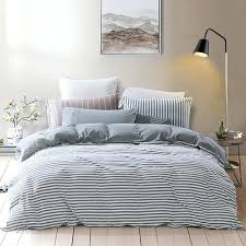 white jersey knit duvet cover pure era ultra soft quality jersey knit cotton home bedding duvet cover set stripe bedroom source s