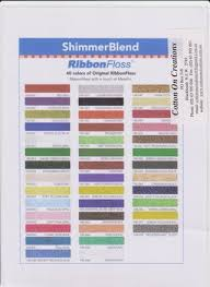 Yli Shimmer Ribbon Floss By Kerryn Lightfoot Issuu