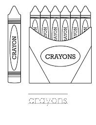 crayola crayon box coloring page crayons learn to draw with pages printable print cra