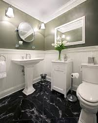 The Bad And Good Sides In Having Marble Tile Bathroom  Bathroom Ideas - White marble bathroom