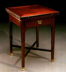 Vienna Secession Fold Over Card Table By Emil Krause On Artnet