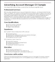 Account Manager Resume Sample Account Manager Resume Sample ...