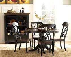 black and wood dining table 5 gallery the most amazing dark wood round dining table dark