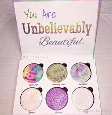 love luxe beauty fantasy palette makeup you are unbelievably beautiful highlighter eyeshadow hot sell eye makeup for brown eyes eyeshadow for brown eyes