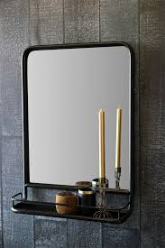mirror with shelf. black wall mirror with shelf - view all home accessories