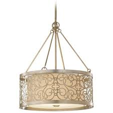 pendant lighting drum shade. feiss lighting drum pendant light with white shade and metal overlay f25374slp hover or click to zoom d