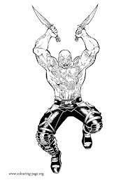 Drax Is A Big And Muscular Guardians Character Who Has The Purpose