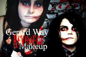 gerard way revenge transformation makeup tutorial my chemical romance
