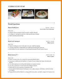 Sushi Chef Resume Cv Sample Chef Resume Sample Examples Sous Chef