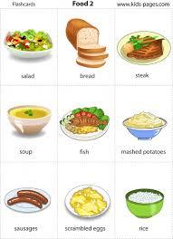 Food Flash Cards Food 2 Flashcard