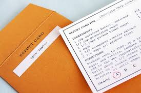 report card envelopes the sweetest occasion report card recipe cards recipe card