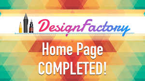 How To Design A Page How To Design A Website Home Page Completed