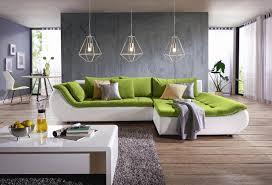Moderne Wohnlandschaft Luxus Wohnlandschaft In Grün Weiß