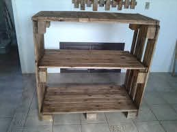 pallet shelving unit for storage