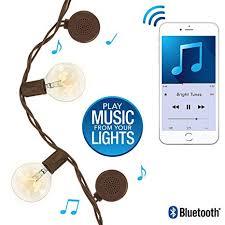 Bluetooth Speaker String Lights Interesting Amazon Patio String Lights With BuiltIn Bluetooth Speakers