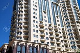 The Facade Of A Modern Apartment Building Stock Photo Picture And - Modern apartment building facade