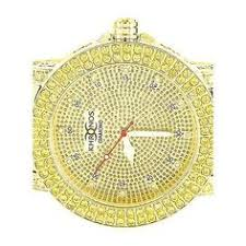 real diamond watch iced out mens solid steel yellow gold joe king mens solid stainless steel yellow xl real diamond 14k gold finish khronos watch