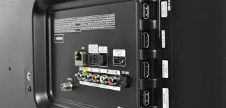 samsung tv hdmi ports. samsung pn60es6500 review rear inputs plasma tv connectivity back ports usb hdmi