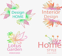 Decorative Text Boxes Gradient color handpainted flowers and decorative text box 83