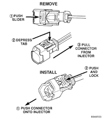i wondering if you could tell me how to replace fuel injectors for injector wiring harness 6.0 diesel at 2005 Dodge Grand Caravan Fuel Injector Wiring Harness