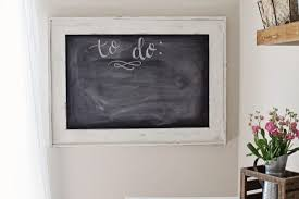 Office Chalkboard Office Chalkboard Makeover With Milk Paint Angela Marie Made