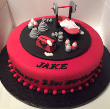 Personal fitness trainer cake | misc en 2019 | Birthday Cake, Gym cake y  18th birthday cake