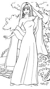 Barbie Doll Coloring Pages For Kids With Barbie Doll Coloring Sheets