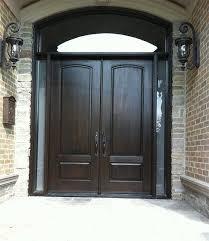 double front doorsarched exterior double doors  Exterior DoorWoodgrain Fibergllass