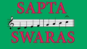 Carnatic Music Ragas Chart Sapta Swaras The Seven Musical Notes Of Carnatic Music