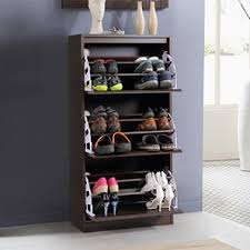 shoe furniture. pointe shoe cabinet dark walnut finish simple configuration 21 pair capacity furniture e
