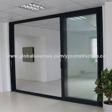china design aluminum sliding door residential 6 year warranty as2208 double glass