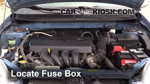 replace a fuse 2003 2008 toyota matrix 2008 toyota matrix xr 2005 toyota matrix radio fuse location at 2004 Matrix Fuse Box