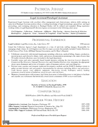 Resume Objective For Paralegal Legal Assistant Resume Objective Sample Secretary Administrative 79