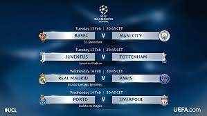 uefa champions league this week s fixtures picture uefa com