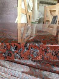 south african red granite countertop high quality kitchen tops