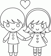 Small Picture Little Boy And Girl Coloring Pages Little Girl Praying Coloring