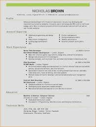 Resume Samples Java New Sample Java Developer Resume New Web