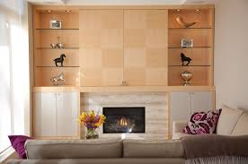 Small Picture media wall designs WALL UNIT Project 710 Hidden TV Quarter Cut
