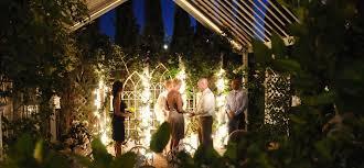 garden las vegas weddings garden nighttime