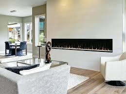 linear electric fireplace ideas