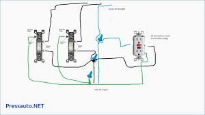 light switch outlet wiring diagram & basic switch wiring how to wire a switch outlet combo with power constantly supplied to the outlet at Switch Receptacle Combo Wiring Diagram