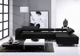 leather sectional decor