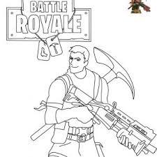 Pixel Gun Coloring Pages Luxury Print Fortnite Battle Royale