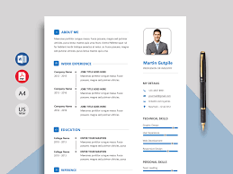 Express Professional Resume Template Docx Resumekraft