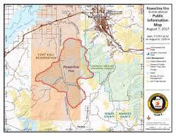 Update Powerline Fire At 51 000 Acres Local News Kpvi Com