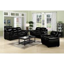 Furniture Design Ideas Electric Black Leather Living Room Sets - Leather livingroom