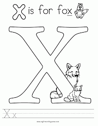 Free printable & coloring pages. Letter X Coloring Pages Coloring Home