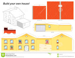 Best Photos Of 3d House Paper Cut Out Free Paper House Cut
